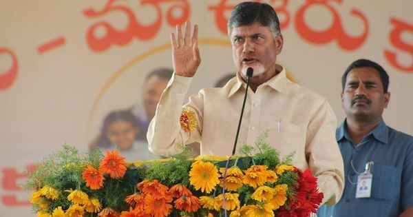 Naidu accused of intolerance after his government thwarts Opposition-backed protest