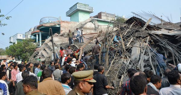 Kanpur building collapse: Toll rises to eight after rescue workers find two more bodies
