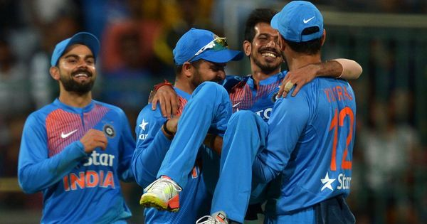 India's leg-spinners were the unlikely victors in the battle of the batters against England