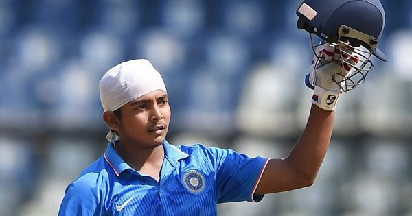 The incredible numbers in Mumbai prodigy Prithvi Shaw's fledgling career