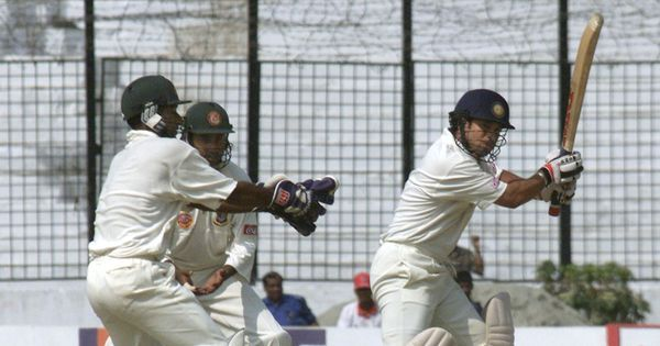 Video: Bangladesh gave India quite a scare in their first-ever Test match in 2000