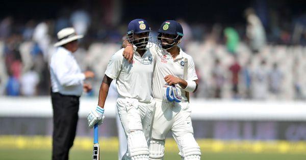 Cricket: Ton-up Virat Kohli, Murali Vijay steer India to 356/3 on Day 1 of Bangladesh Test