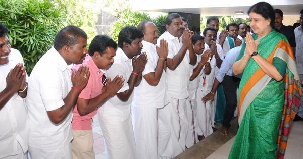 Behind the scenes: What Sasikala told MLAs after hearing about her conviction by the Supreme Court