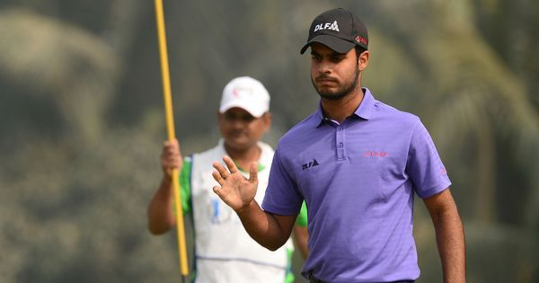 Shubhankar Sharma shoots 7-under, takes 5-shot lead into final round at Joburg Open