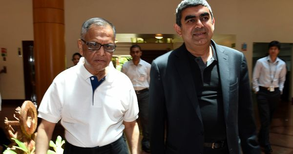Narayana Murthy ends row with Infosys board and CEO, but says his concerns remain