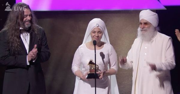 Watch: New age band White Sun wins a Grammy for their album inspired by yoga bhajans