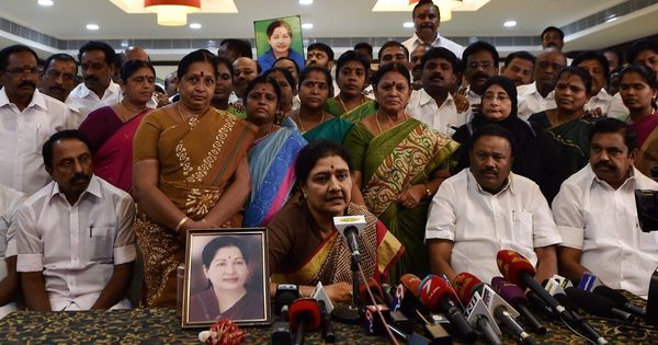 Sasikala's gameplan for guilty verdict: Quickly nominate a new chief minister