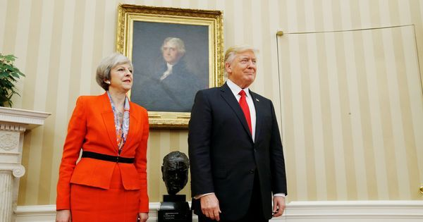 Theresa May rejects petition against Donald Trump's UK visit