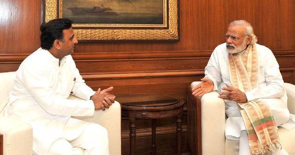 In Uttar Pradesh, it's Akhilesh Yadav vs Narendra Modi