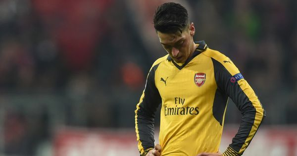 Mesut Ozil to miss Arsenal's clash against Bayern Munich in Champions League