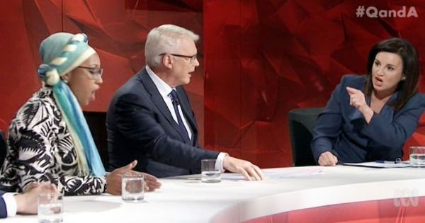 'Islam is the most feminist religion': Two Australians have a shouting match on TV over sharia law