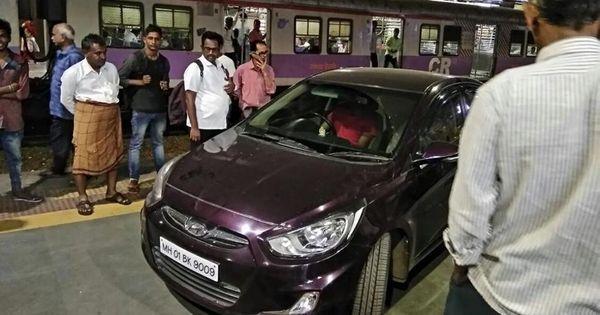 Mumbai: Purple car joins Monday morning commuters on platform 1 of Andheri station