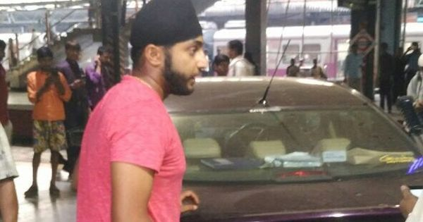 Former India under-19 cricketer arrested for driving car on to railway platform in Mumbai