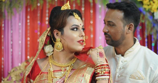 Why a trans-woman in Kolkata insisted on having a legal wedding with pomp and circumstance