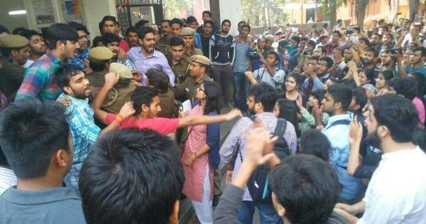 Even some on the Right think the ABVP's actions in Ramjas were a mistake