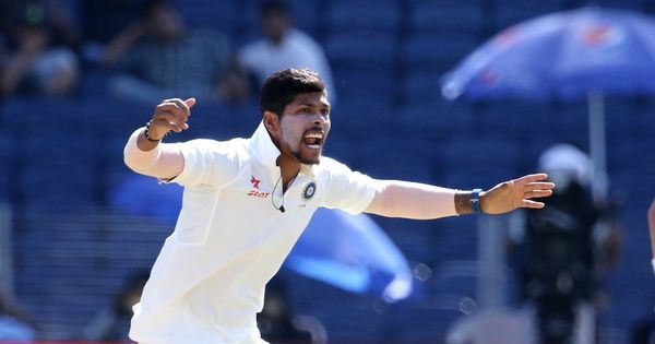 On a raging turner, Umesh Yadav used pace to put Australia on the back foot