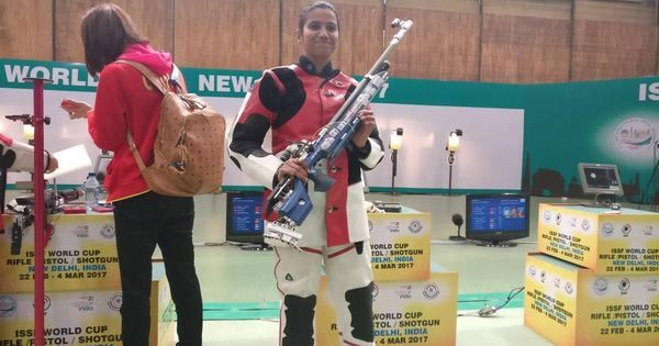 India's Pooja Ghatkar finishes third in 10m Air Rifle final at Shooting World Cup