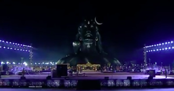 Watch: Narendra Modi unveils controversial 112-foot Shiva statue at Isha Foundation
