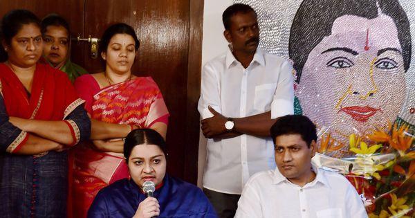 Tamil Nadu: Deepa Jayakumar's husband breaks away from MGR Amma Deepa Peravai to form new party