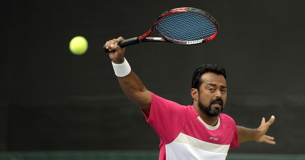 Leander Paes and Yen-Hsun Lu lose in Delray Beach men's doubles semi-finals