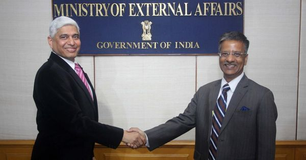 Gopal Baglay replaces Vikas Swarup as Ministry of External Affairs spokesperson