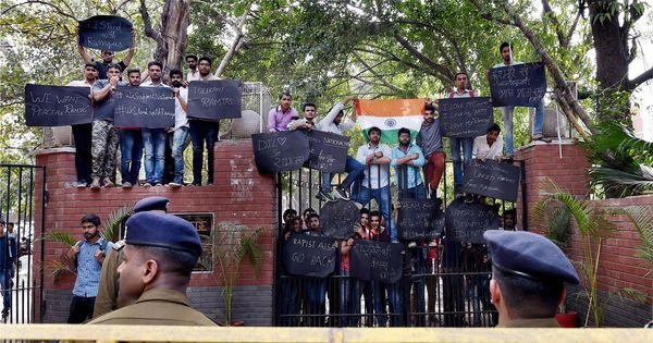 'It's personal': Delhi student march against ABVP draws many young, first-time protestors