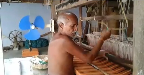 Watch: A Chennai man made a fan for his grandfather that runs without electricity