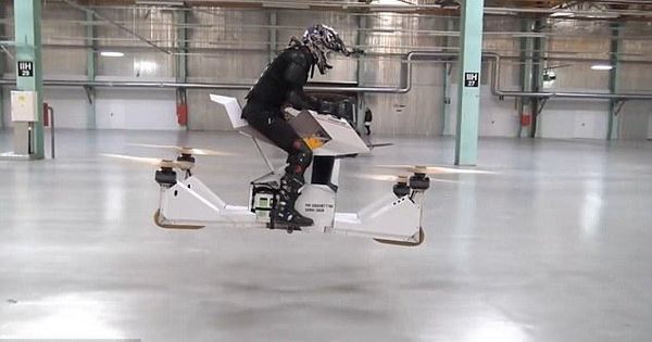 Video: The 'Star Wars' hover bike is a reality thanks to a Russian startup (at least, in a lab)
