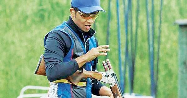 India's Angad Veer Singh Bajwa wins bronze in mixed team skeet event of shooting World Cup