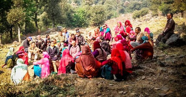 In Himachal Pradesh, a village is using the law to take back forest land from the Forest Department