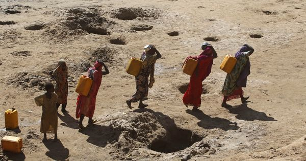 Somalia drought: At least 110 died of hunger and diseases in the past two days