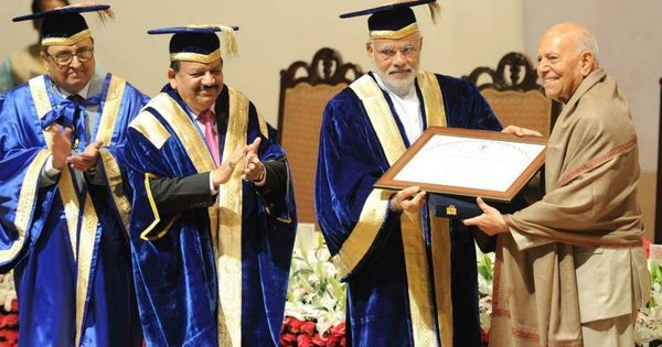 It takes hard work to get through Harvard – and it's dangerous for Modi to imply otherwise