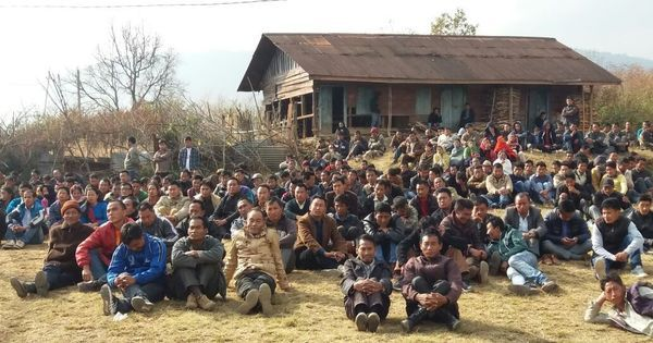 In Manipur's Senapati district, one party has become the face of Naga political demands