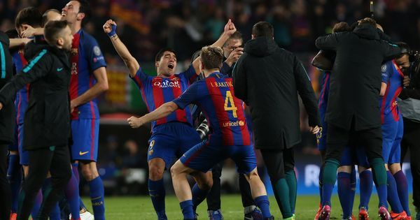 'Best turnaround ever in football': Twitter erupts as Barcelona stage historic comeback against PSG