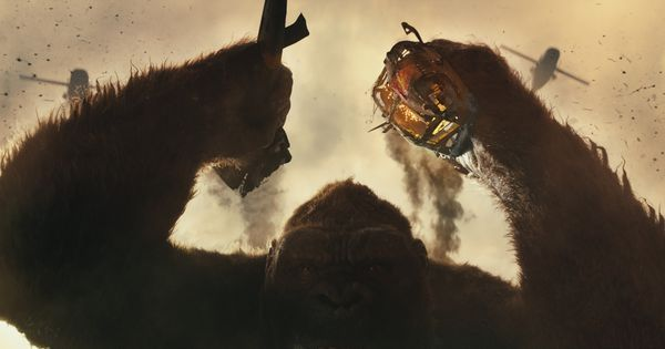 Film review: In 'Kong: Skull Island', the giant ape is an anti-war protester