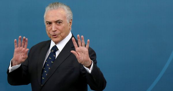 Brazil President Michel Temer faces more corruption charges, accused of leading a criminal group