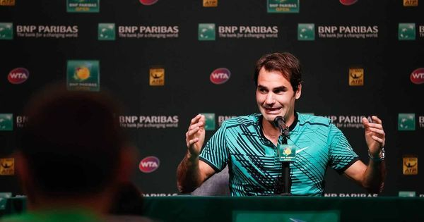 Watch: Roger Federer's press conference with kids is the coolest thing ever