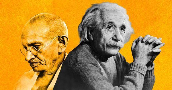 अल्बर्ट आइंस्टीन के कमरे में लगी दो तस्वीरों में से एक महात्मा गांधी की ही क्यों थी?