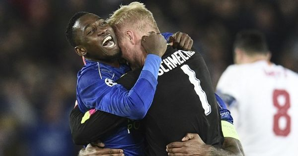 Champions League: Nasri red and missed penalty see Leicester overcome Sevilla 2-0 and advance