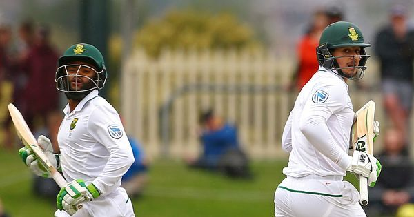 Quinton de Kock, Temba Bavuma steer South Africa to position of strength against New Zealand