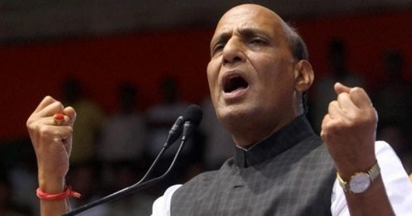 Ensure that Kashmiris are safe in your states, Rajnath Singh tells CMs