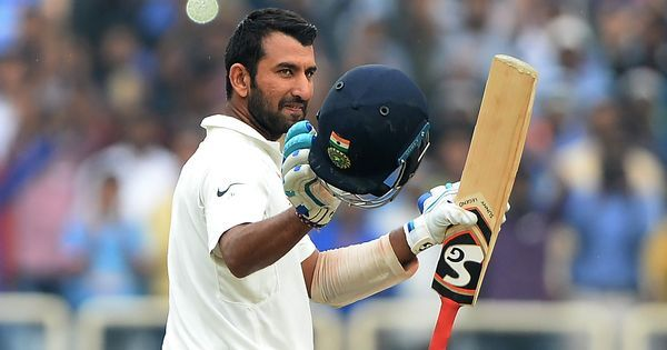 Cheteshwar Pujara slams century on his home debut for English county side Nottinghamshire