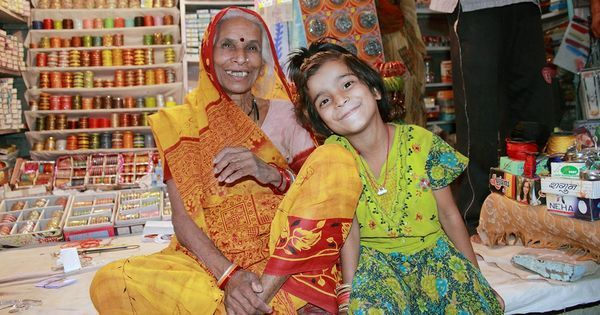 Lonely seniors citizens in India are hiring 'grandchildren' for solace and help