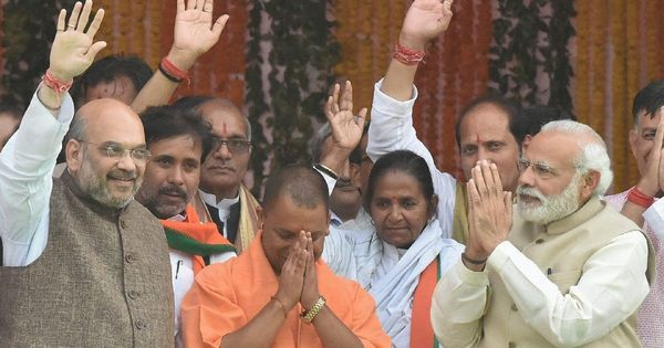 Yogi Adityanath and Ramdev are the new BJP model of development-plus