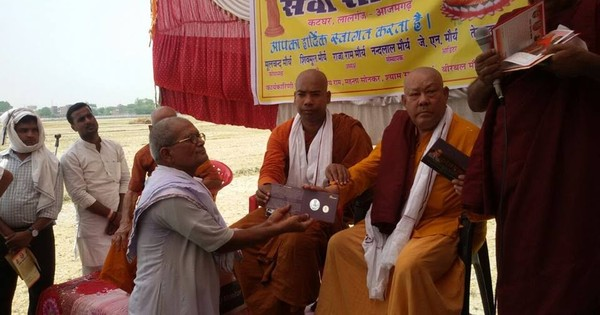 Monks claim that Modi's Buddhist messenger is actually out to defame Buddhism