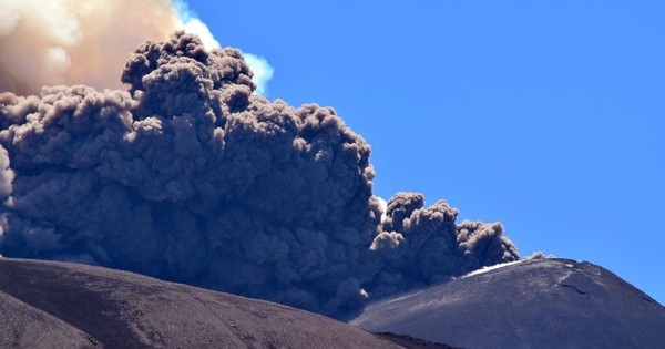 Watch: A volcano erupts at dawn. Can anything be more spectacularly fearsome?