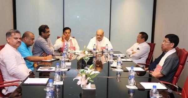 अरुणाचल और असम को 'कांग्रेस मुक्त' करने के बाद अब भाजपा की नजर मणिपुर पर है
