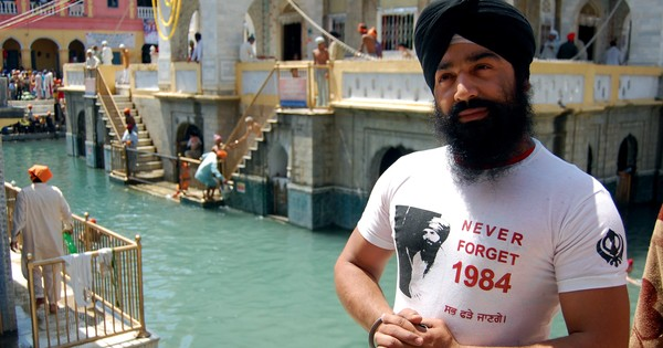 How did Sikh heritage become hostage to hostilities between India and Pakistan?