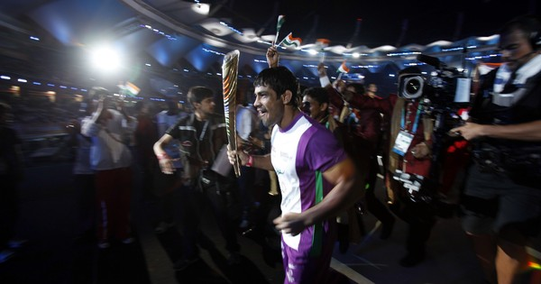 Olympic medallist wrestler Sushil Kumar confirms that he met WWE officials