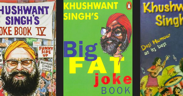 In the world of jokes, Khushwant Singh is the only name that still sells